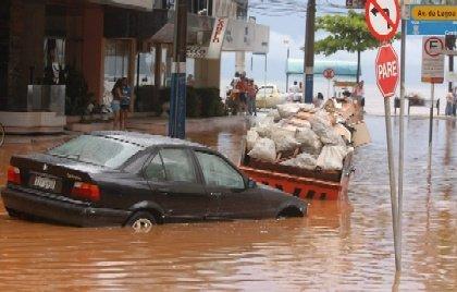 Enchente em Minas Gerais