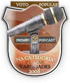 Selo oficial de 3º lugar, enviado pela organizaão do prêmio