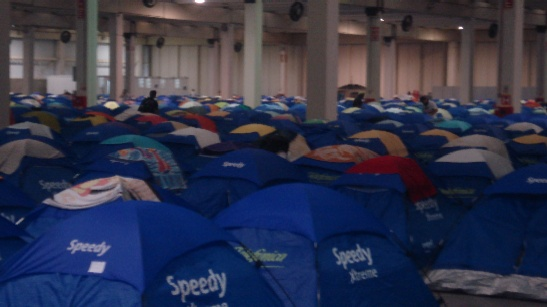 Acampamento na Campus Party 2009