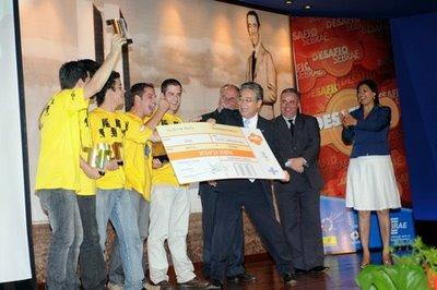 Equipe 'Costela no Bafo', vencedora da edição 2008