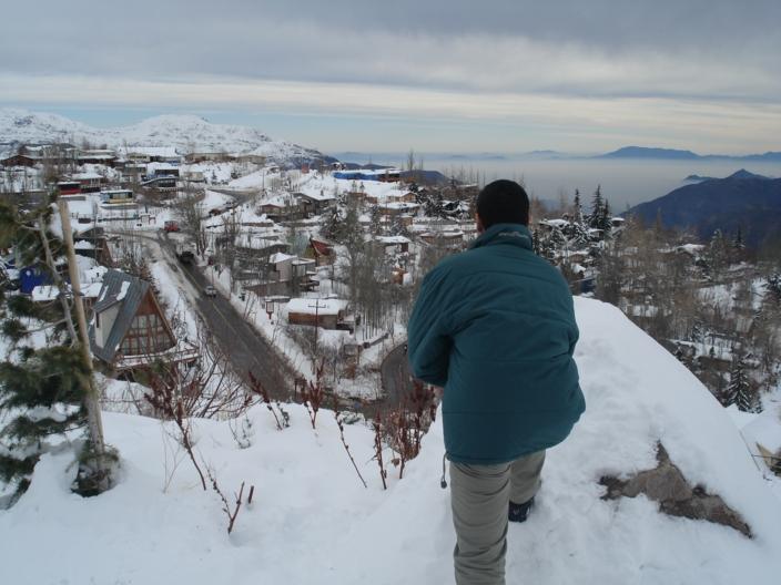 Los Farelones - Cordilheira dos Andes
