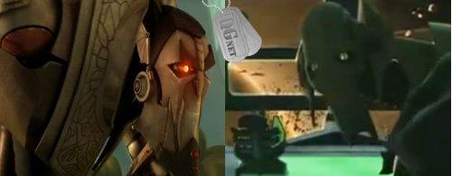 Vilão de Stellar vs Grivous de Star Wars