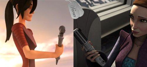 Bastão de luz vs Sabre de luz
