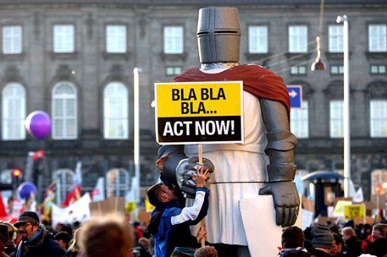 Protesto em Copenhague