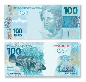 Nova cédula de 100 reais