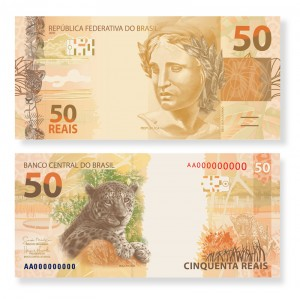 Nova cédula de 50 reais