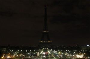 Torre Eiffel durante a HP 2009
